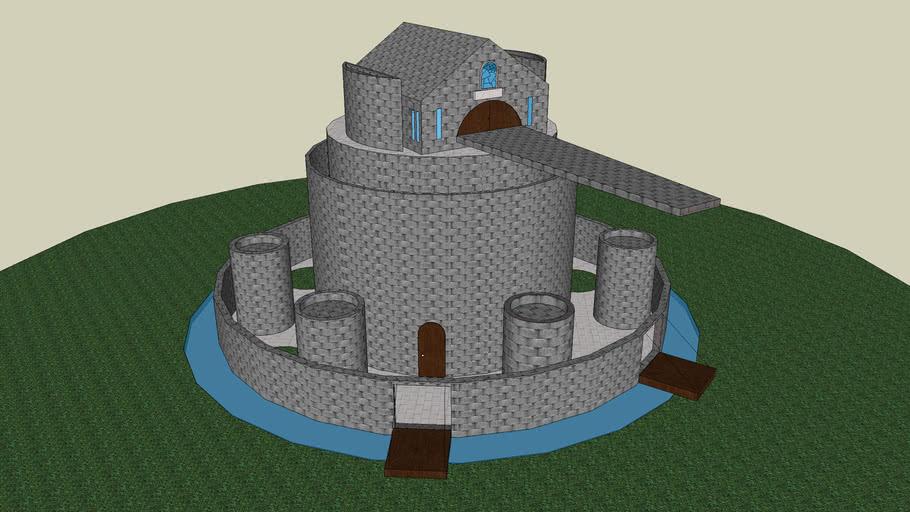 castillo de la familia mediaval chamorro