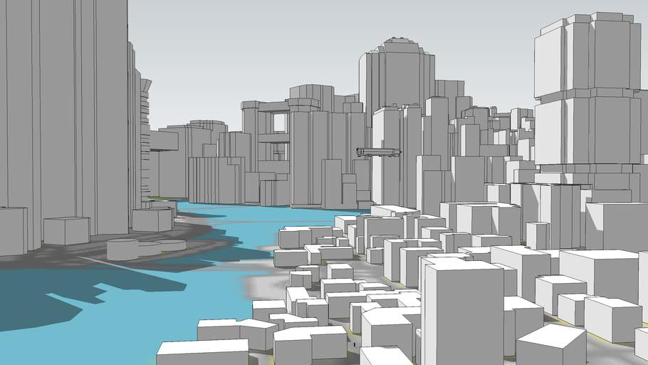 Night City 3D Model (Updated)