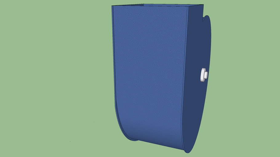 Centrifugal fan case only