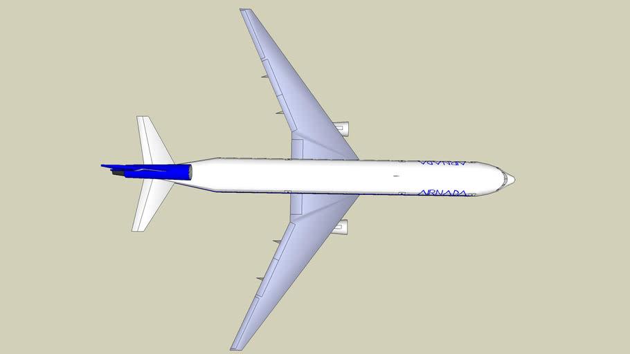 Large Trijet Airliner (Desig. H7029-100)