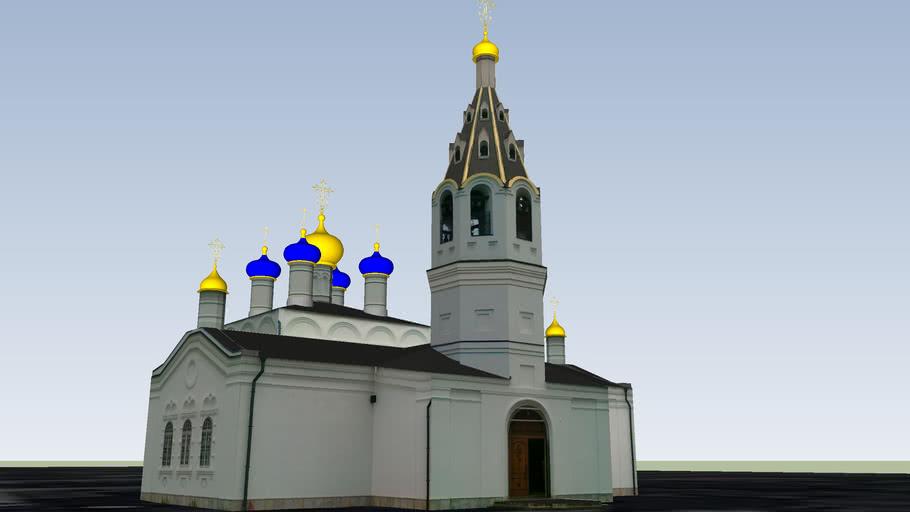 Церковь Николая Чудотворца в Сидоровском