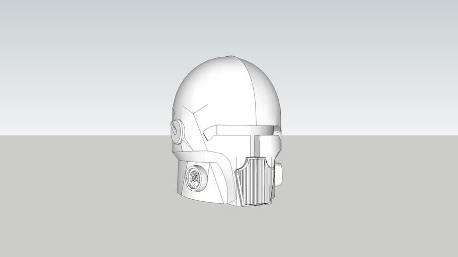 Custom Star Wars Helmet (3D Printable)