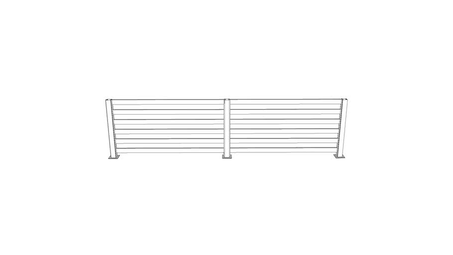 """3"""" universal fence sections"""