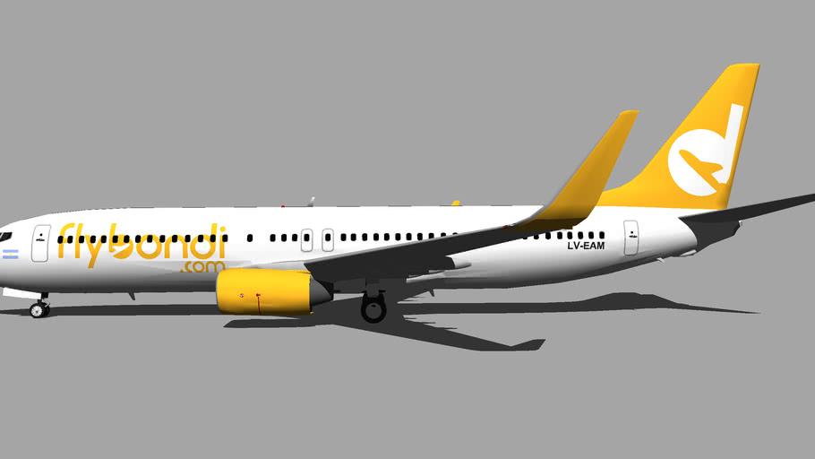 FlyBondi (LV-EAM) - Boeing 737-8SH (2017)