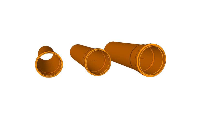 SEWAGE PIPE PVC DN 100-160