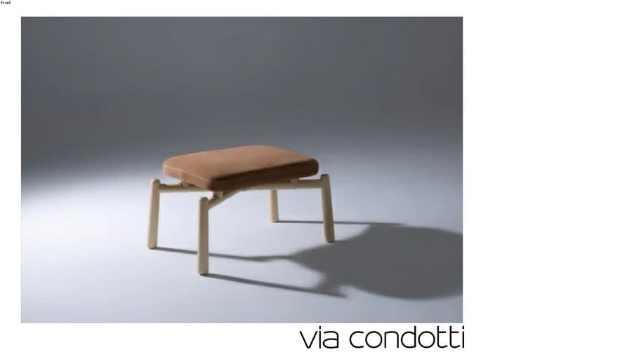 Banqueta Vale - Roberta Banqueri | +55 Design