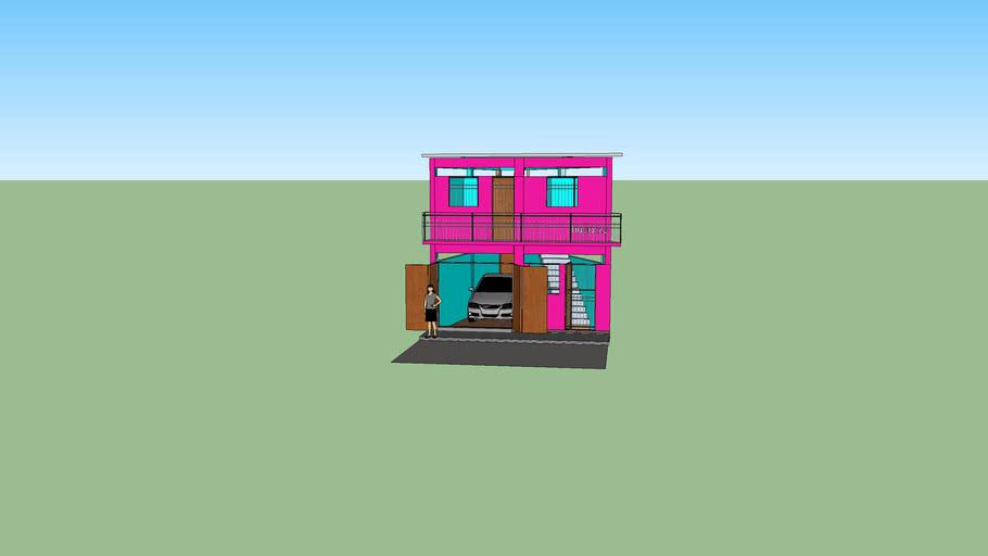 casa chica de dos plantas