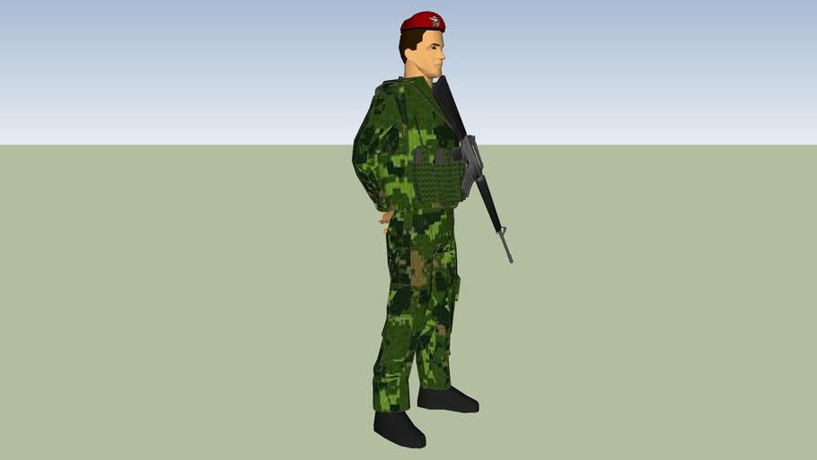 soldado militar sedena ejerito mexicano secretaria de la defensa