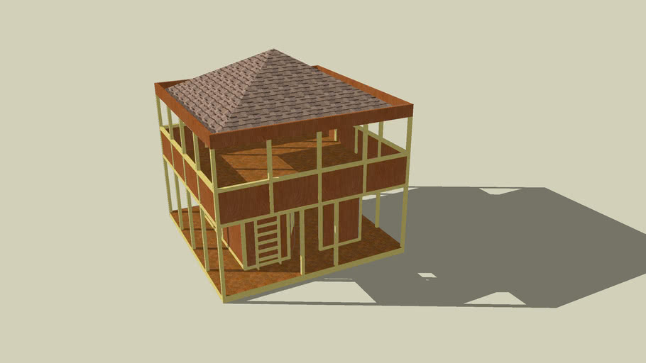 2 STORY WOOD HOUSE