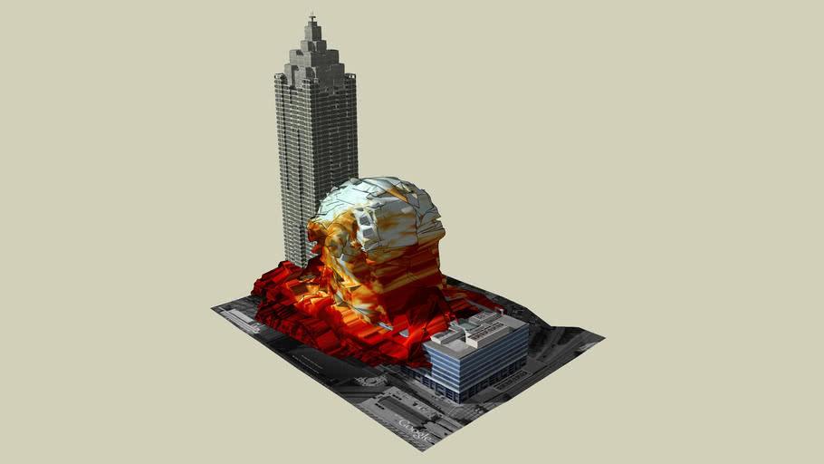 SunTrust Plaza Exploding