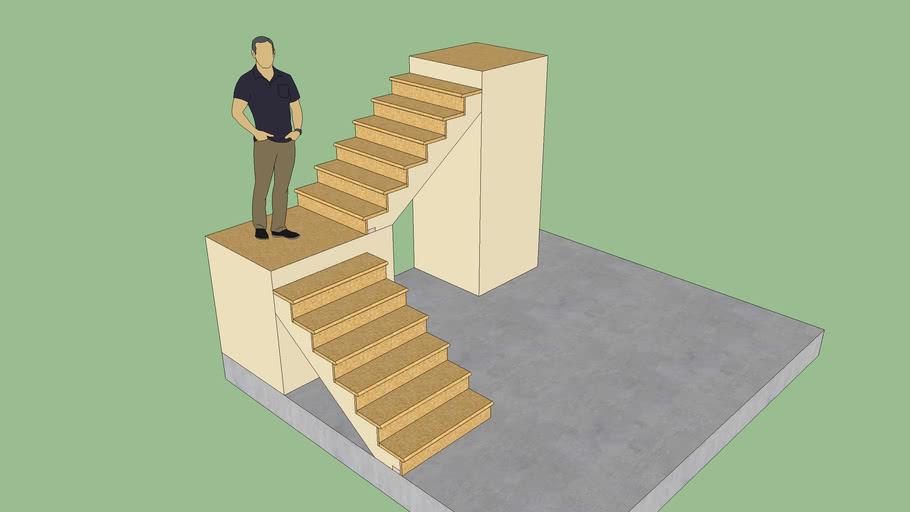 Stair Test 1