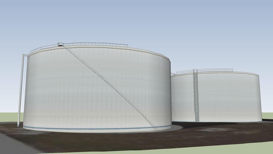 Tanques de combustibles en Cabo Kennedy