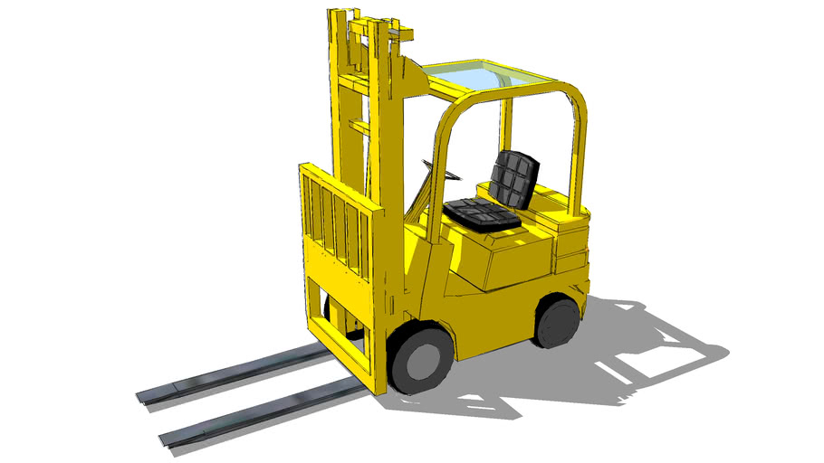 Forklift fast by BeauCAD