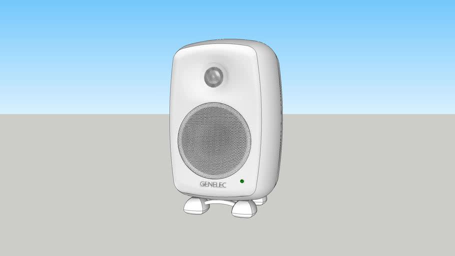 Genelec 8020 White (8020A, 8020B, 8020C, 8020D, white speaker, audio monitor)