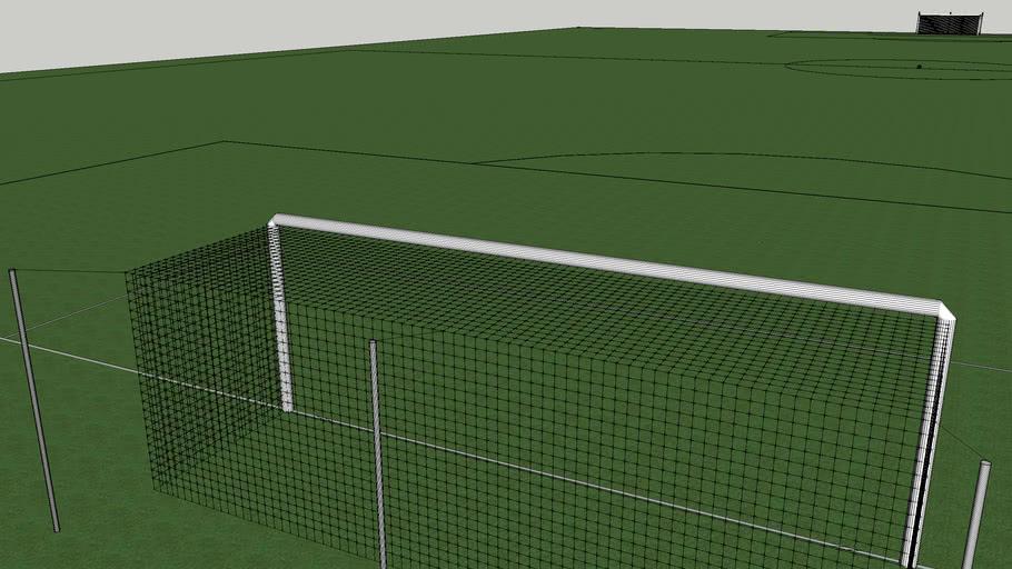 Terrain de football (taille officielle )