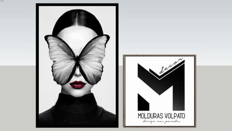 QUADRO BUTTERFLY FACE