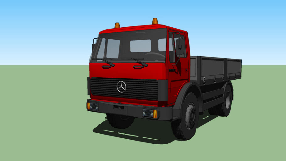 Mercedes-Benz 1632 Бортовой