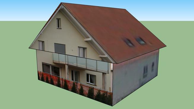 Gebäude in Dietwil, Schweiz