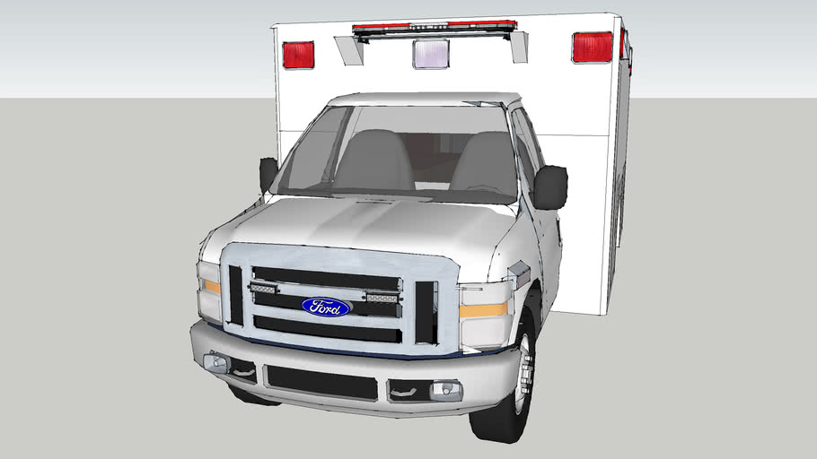 ambulance type lll ford f450 econoline model 2009