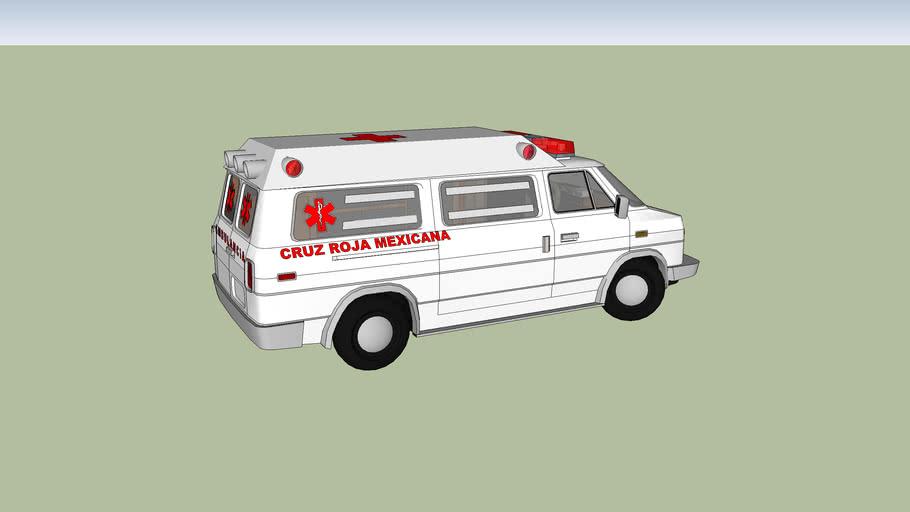 ambulancia de la cruz roja mexicana delegacion de tecalitlan jalisco