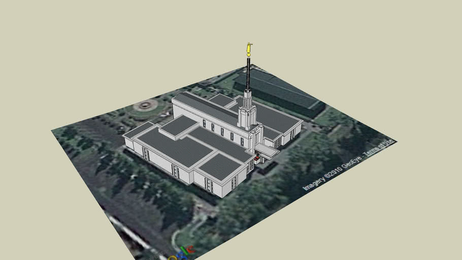 LDS, Templo Mormon, Santiago, Chile, 24 th, Operating temple.
