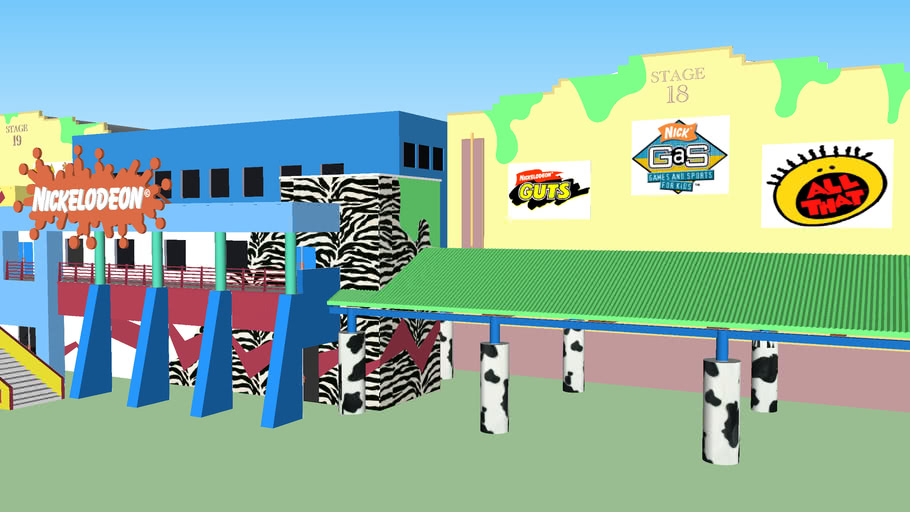 Nickelodeon Studios Florida (Updated)