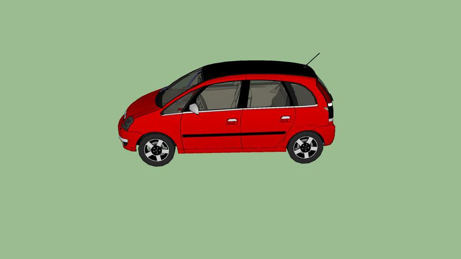 Opel Meriva Facelift (fictional)