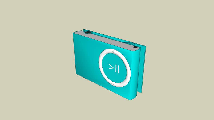1GB ipod Shuffle blue