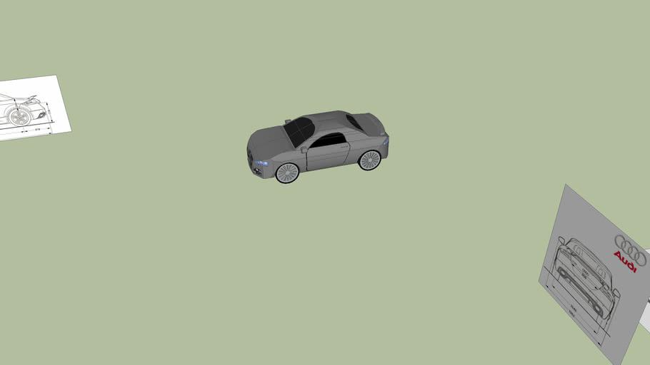 the audi car