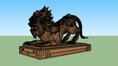 S神兽雕像