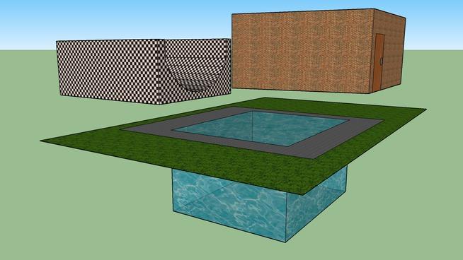 Garage, Pool & Skate Ramp