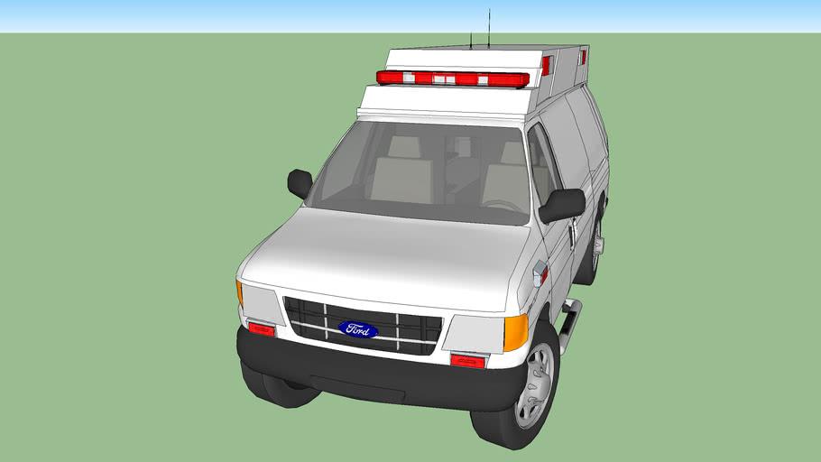 ambulance type ll ford f350 econoline model 2003