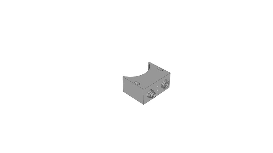 RPEM 93 x 83 x45 Inductive Transmission Systems Remote