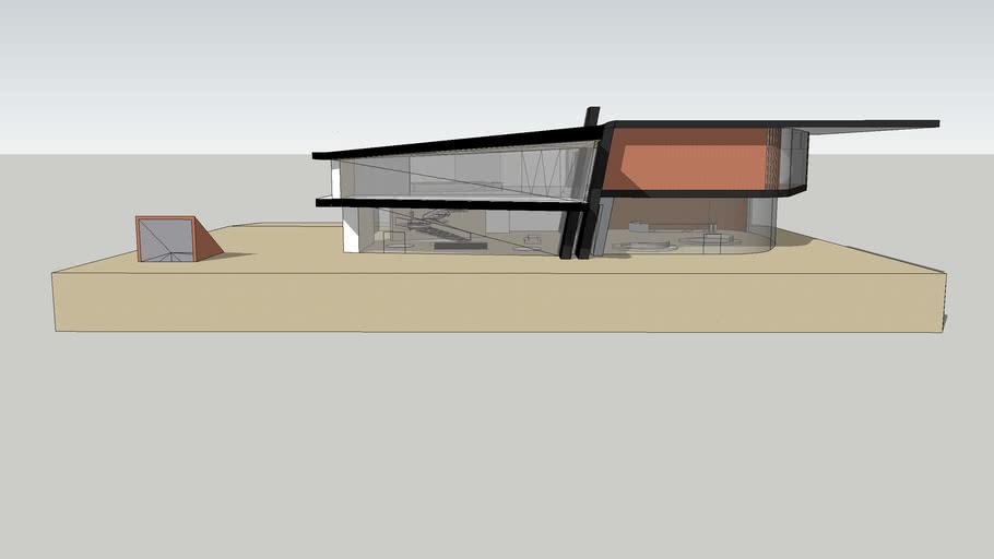 Glass House : Off-white X Autofabrica