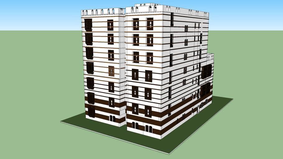 hijazi 3D building    مبني على الطراز الحجازي