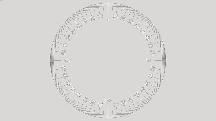 Simple Dial / Protractor