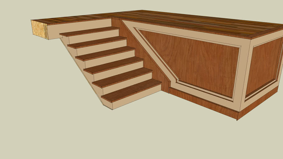 stair and floor