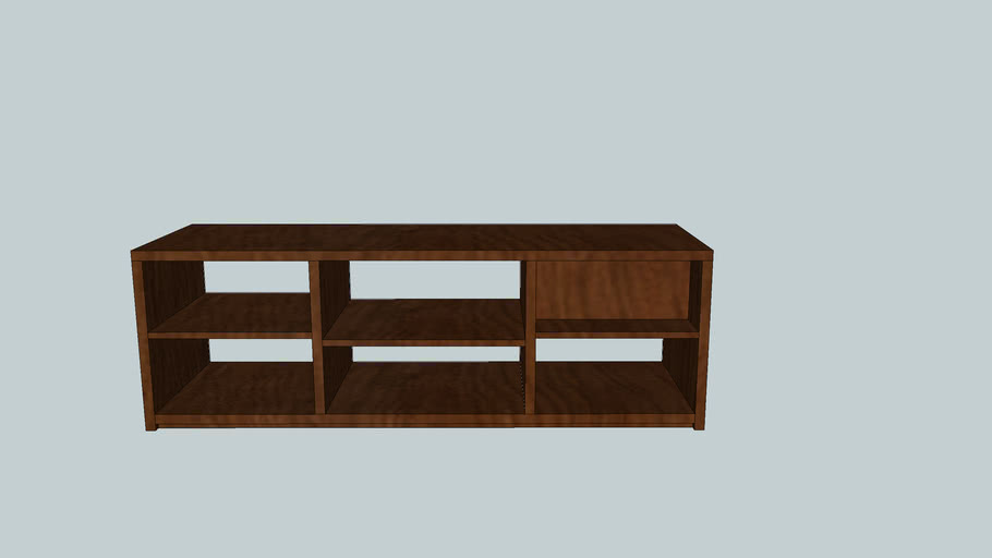 hifi rack, real size, 157 cm wide