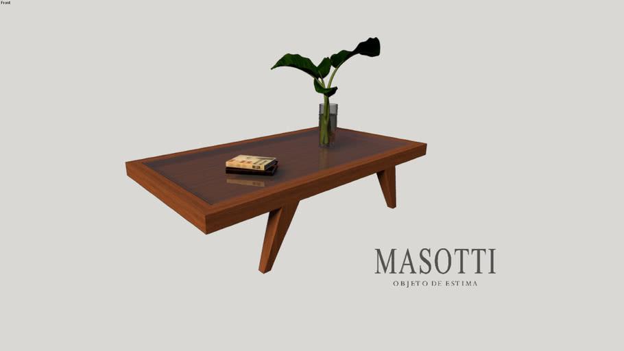 Mesa de Centro Coleção Masotti Ref. MAS.23.0 vd inc. F15(3)