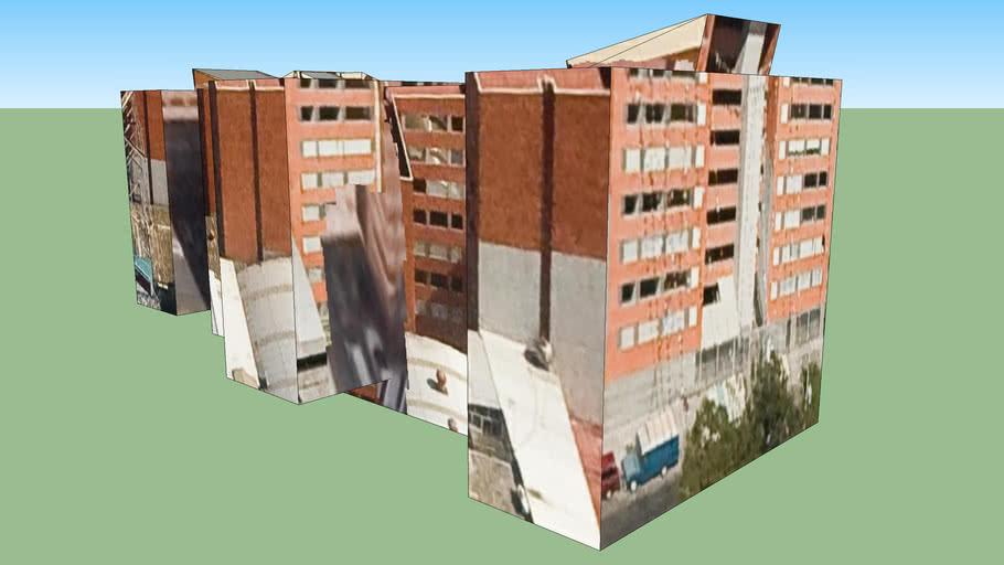 Construção em Cidade do México, Distrito Federal, Mexico