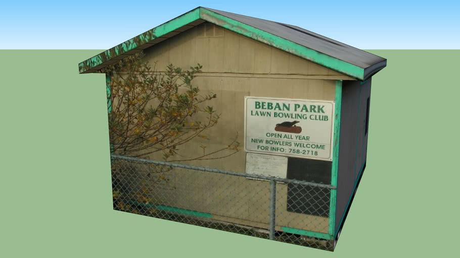 Beban Park Lawn Bowling Club House
