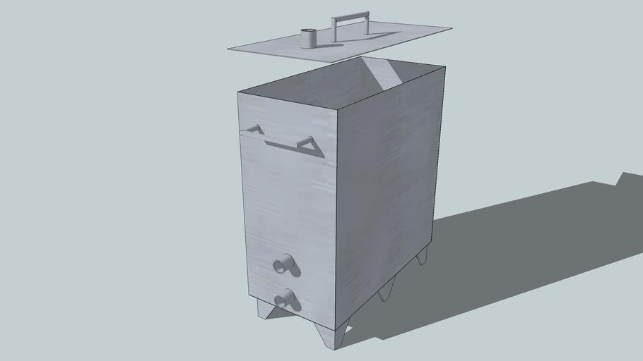 Rectangular Brew Kettle for the Stovetop