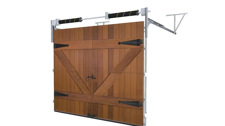 Clopay Reserve Series Garage Door Design No 8 3d Warehouse