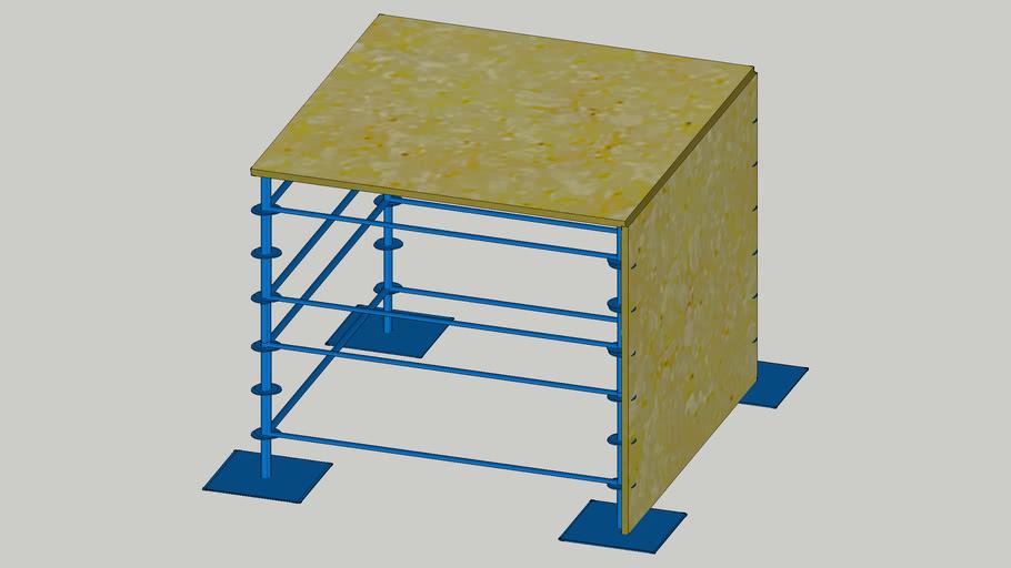 конструкция паркур акрострит