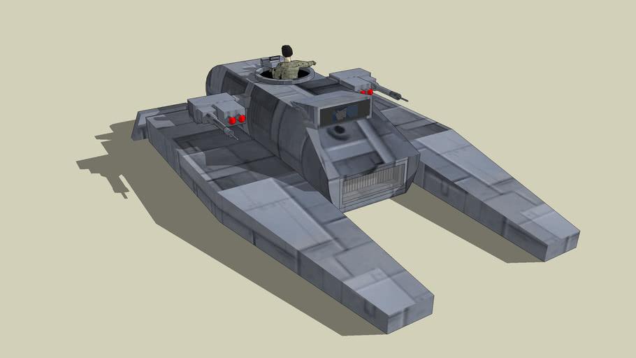 "IFT-3 ""Firebird"" Intergalactic Fighter Tank (USNR-UC-IFT-3)"