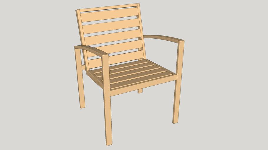 Floracea - Cadeira em Alumínio - DonaFlor