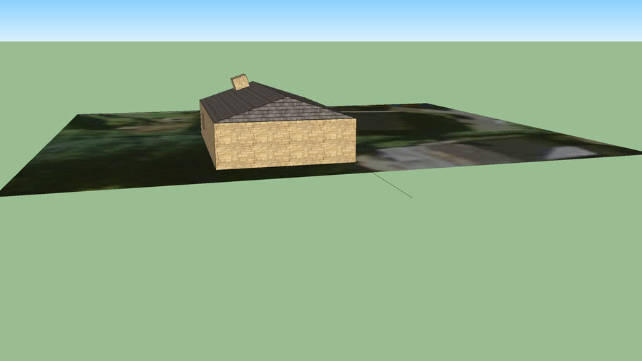 Basic house disgn (no doors or windows)