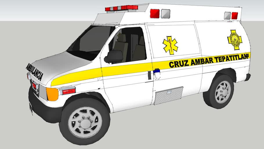ambulancia de la cruz ambar delegacion de tepatitlan de morelos jalisco