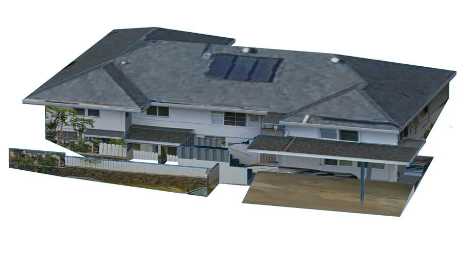 Blue Seaview Top Home