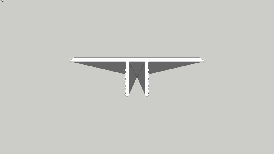 KECTJM - Cladding Top Joiner